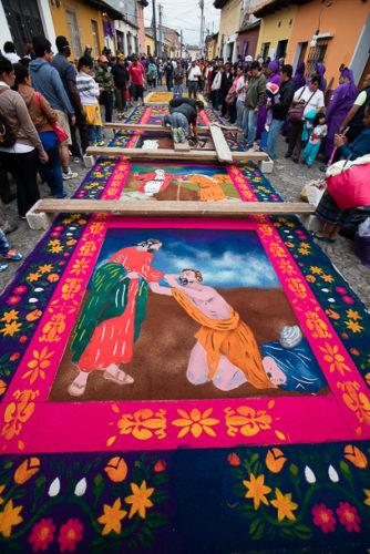 procession carpet